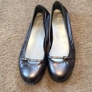 Cole Haan silver shoes